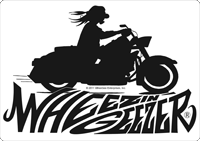 Geez on bike with logo picture