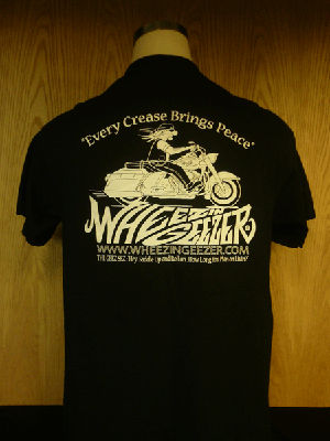 Tee back side picture